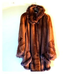 Custom Genuine Mink Coat